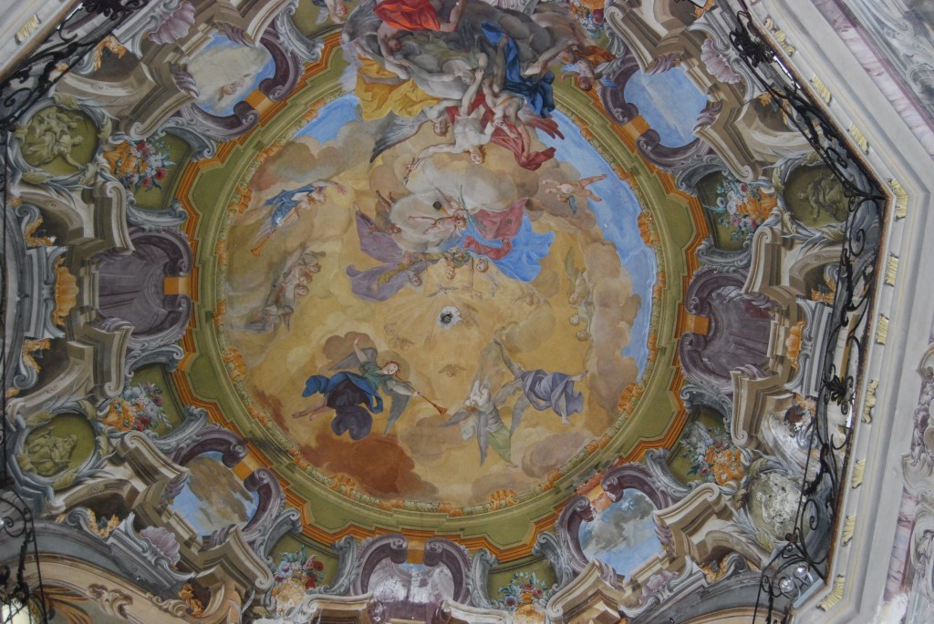 2 I  Chiesa San Sebastiano, affrescoes